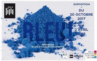 """""""Vous avez dit bleu ?"""" - Musée d'Histoire Naturelle, Lille. 16 février 2018 -18h."""