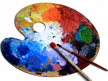 """""""Peindre avec les couleurs et les mots : une expérience chromatique, sociale, poétique"""". C"""