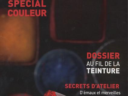"""""""Des mots pour dire la couleur"""" Ateliers d'art n°129, juin-juillet 2017"""