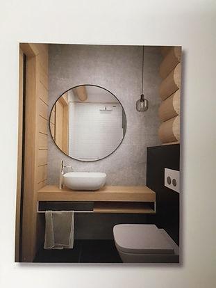 domy z bali - łazienka parter