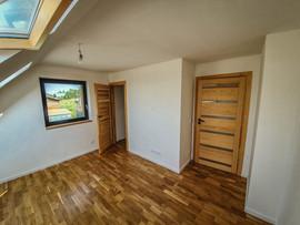 dom stodoła - sypialnia