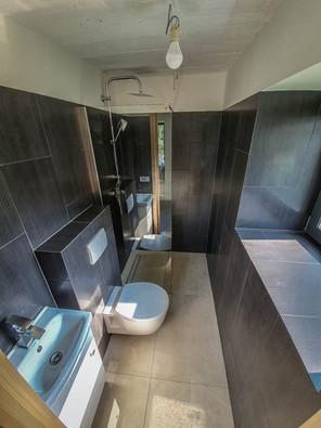 domek dla gości - łazienka