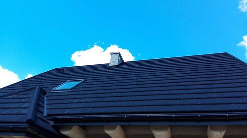 domz bali - gotowy dach, metalodachówka Metrotile