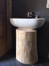 domz bali - łazienka - półka po umywalkę