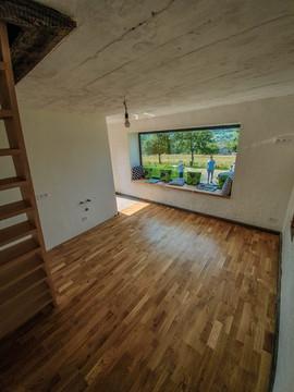 domek dla gości - wnętrze
