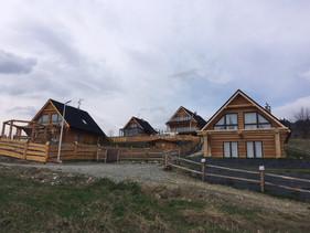 domy z zewnątrz