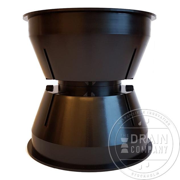 Stack Drain Kit - interlocking cones