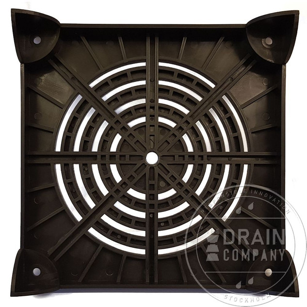 Stack Drain Drainage Plate Bottom View.j