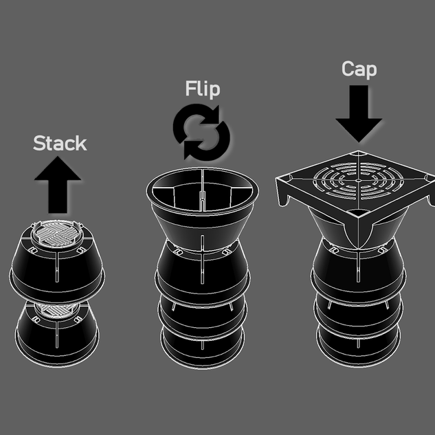 Stack Drains concept
