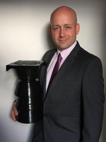 Stephen Mills with Prototype