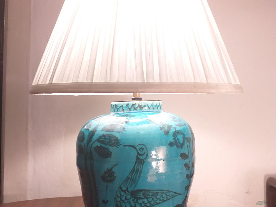 A Large Persian Lamp
