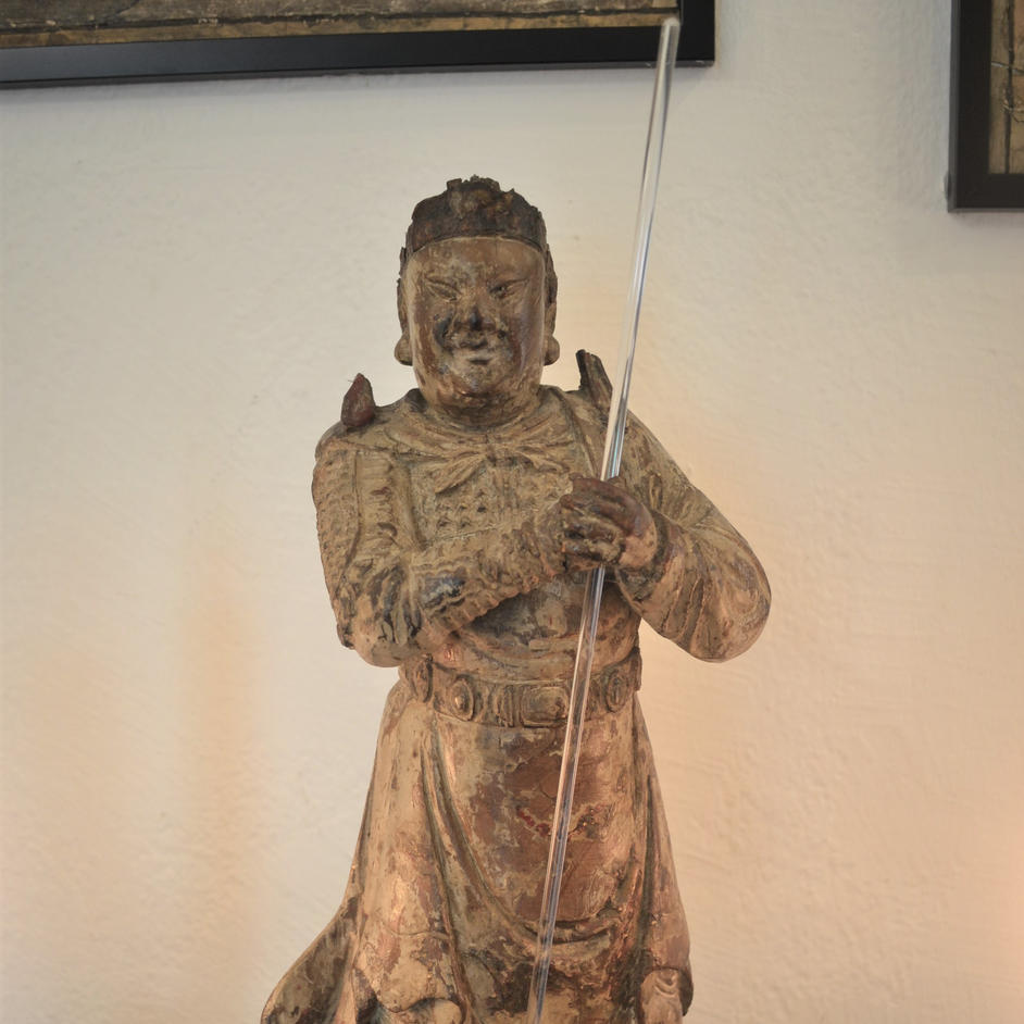 A large figure of Wei Tuo