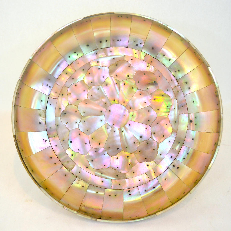 A Rare Mother of Pearl Dish