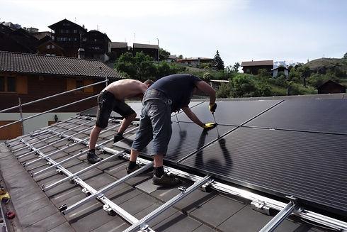 Autoconstruction solaire