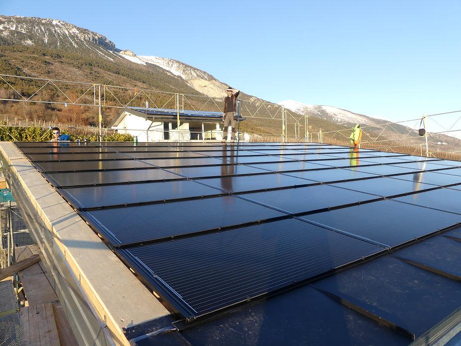 Panneaux solaires Valais | Solaranlage Wallis