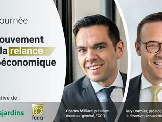 Desjardins et la FCCQ poursuivent en Montérégie la tournée virtuelle En Mouvement pour la relance so