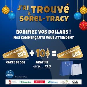 Lancement d'une campagne d'achat de cartes-cadeaux bonifiées pour soutenir les commerces locaux