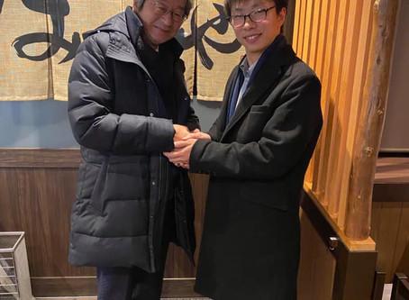 学長のつぶやき。菊池省三先生と♪