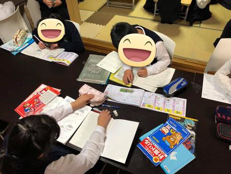 [小学部] 学童クラブ、宿題の時間🎵