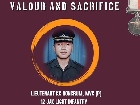 Captain Nongrum: Meghalaya's highest Decorated Soldier