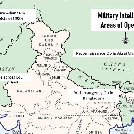 Military Intelligence: Working in the Shadows