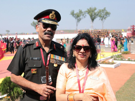 """Major General Sharabh Pachory: """"We were deployed at forward posts at a height of about 20,000 ft"""""""