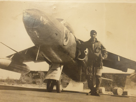 """""""I saw a display of MiG-21s on an airfield & I knew-Air Force, for me, meant Fighters, nothing else"""""""