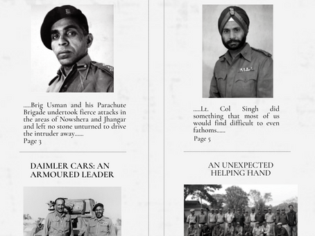 Chapter 3: Trouble in Jammu: the War widens -- India Pakistan War 1947-48
