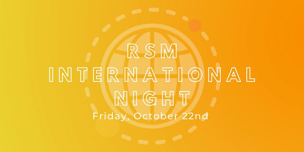 RSM International Night