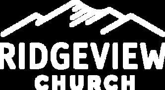 Ridgeview Church Logo - White - 480px.pn