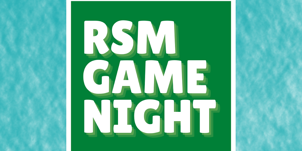 RSM Pizza and Games