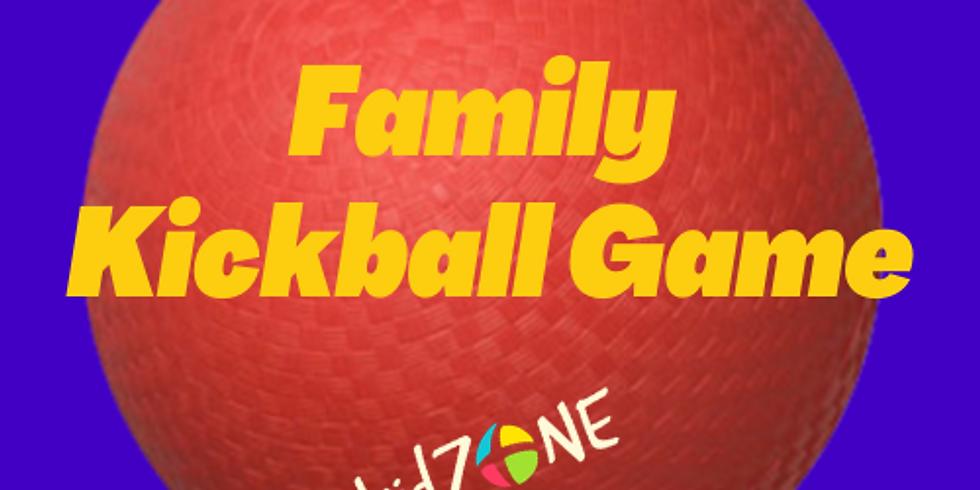 Family Kickball Game
