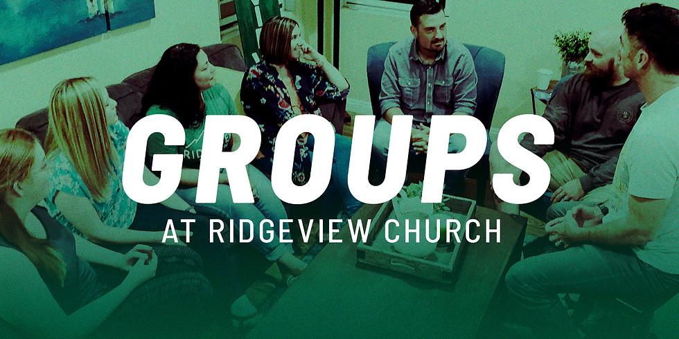 Groups at Ridgeview