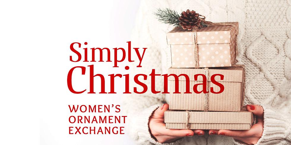 Women's Ornament Exchange