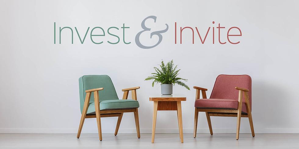New Sermon: Invest & Invite