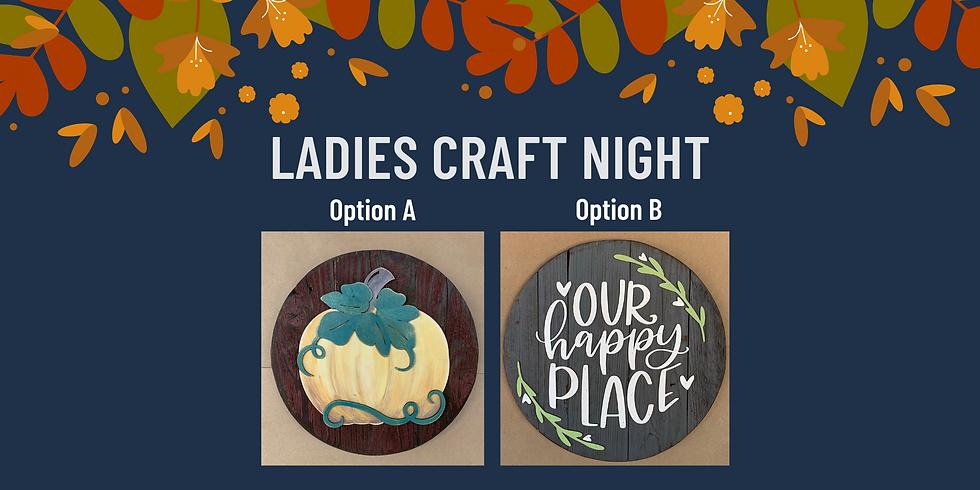 Ladies Craft Night