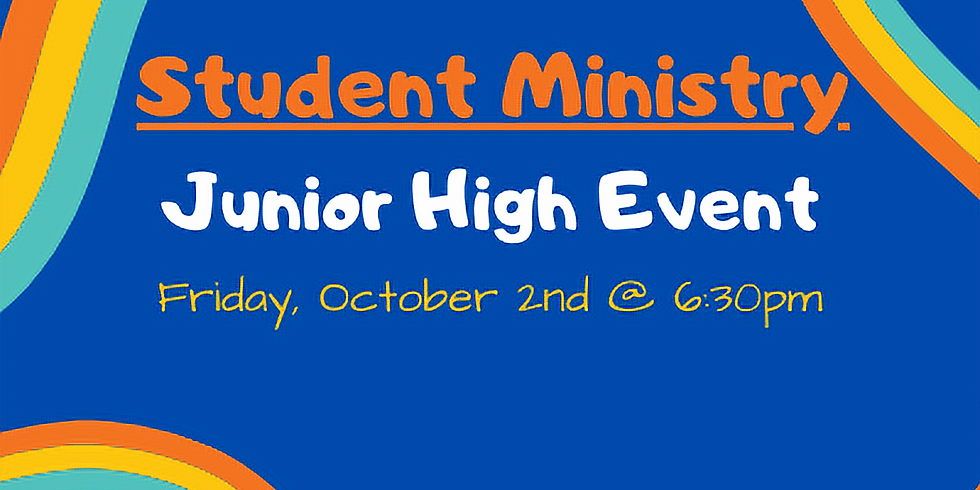 Student Ministry Event