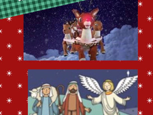 Complimentary Christmas story activity
