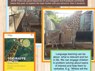 Topics to promote language learning: Resources for pre-school to Year 5!