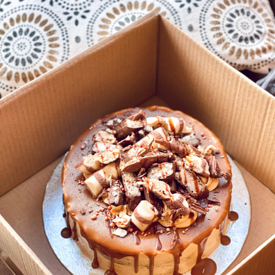 Loaded Sticky Toffee & Biscoff Cake