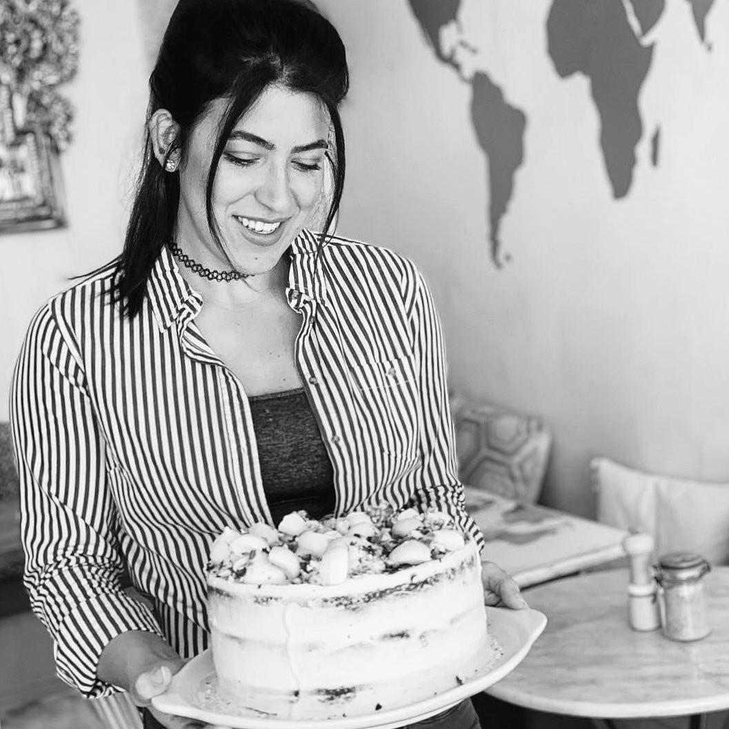 Head baker + owner, Alexa