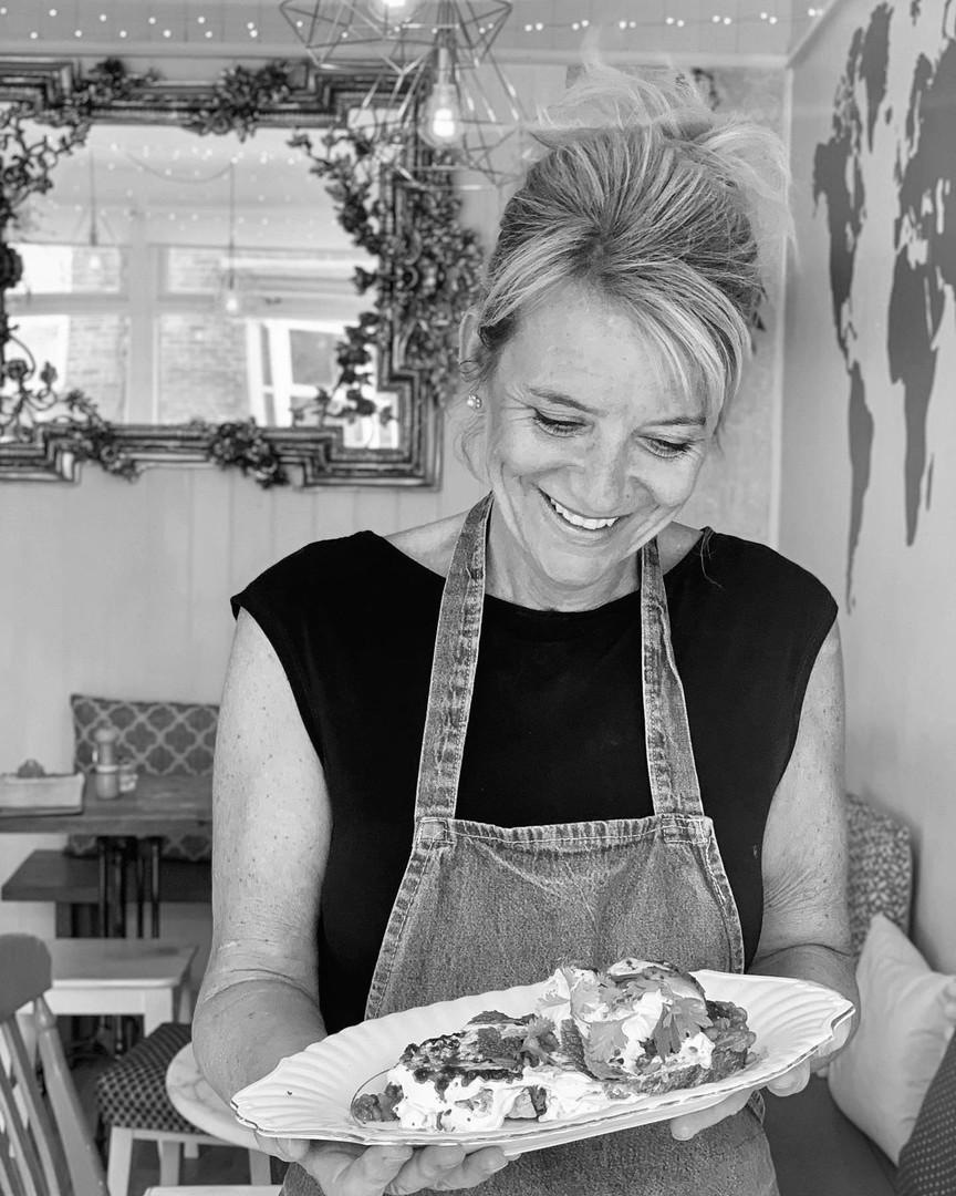 Head chef + owner, Jane