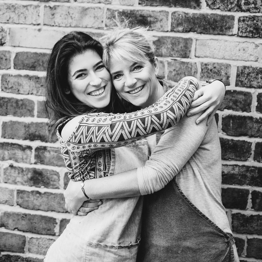 Jane + Alexa / photo by Jana Kukebal