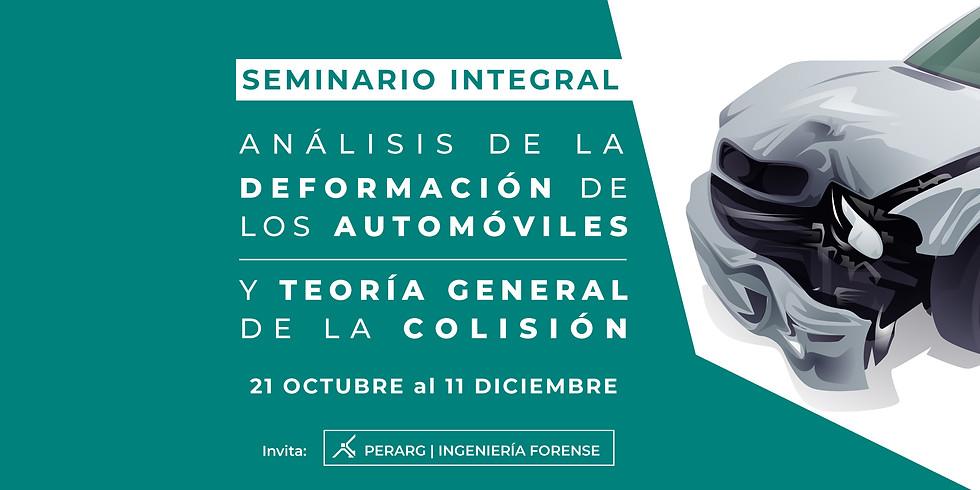 Análisis de la deformación de los automóviles y Teoría General de la Colisión