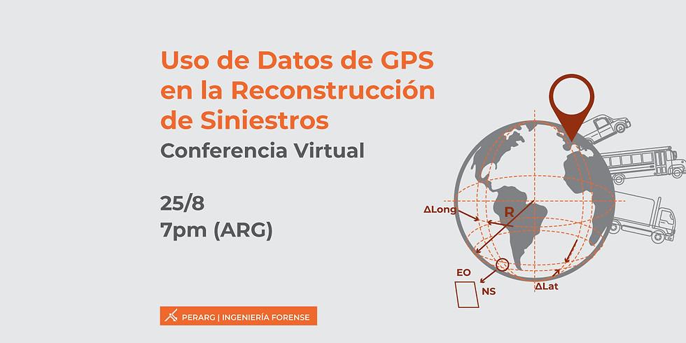 Uso de Datos de GPS en la Reconstrucción de Siniestros