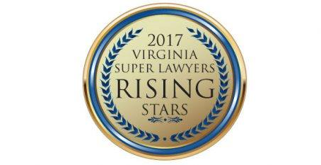 2017 Virginia Super Lawyers Rising Stars