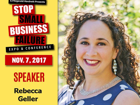 The Geller Law Group to Exhibit/Speak at Stop Small Business Failure™ Expo & Conference
