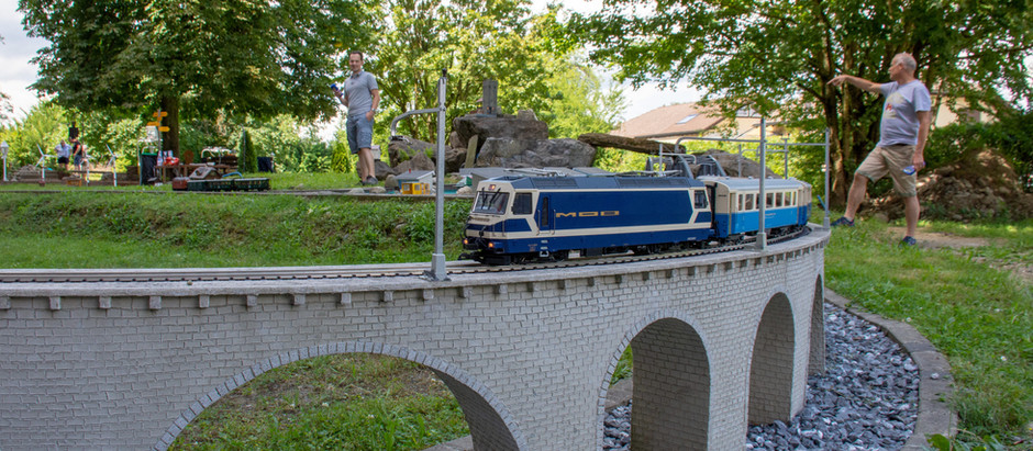 Fahrtag bei Faszination Eisenbahn