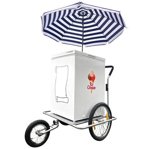 ICE CREAM CART, TRICYCLE, STALL