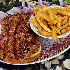 Kalua Pig Sandwich